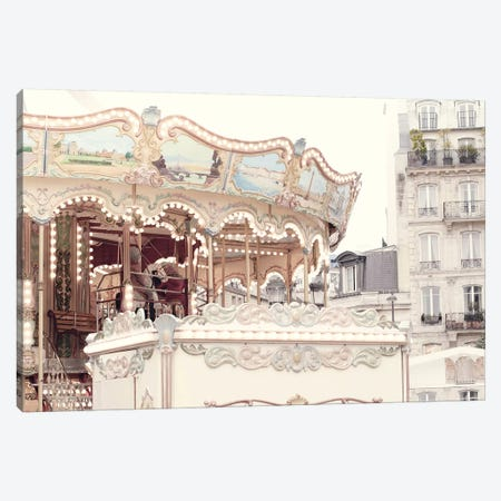 Paris Carousel III Canvas Print #RAB104} by Ruby and B Canvas Artwork