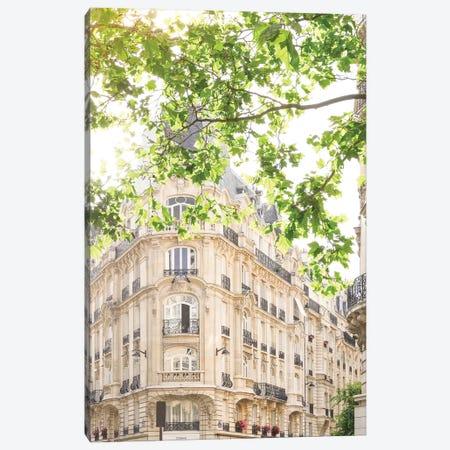 Parisian View Canvas Print #RAB107} by Ruby and B Canvas Art