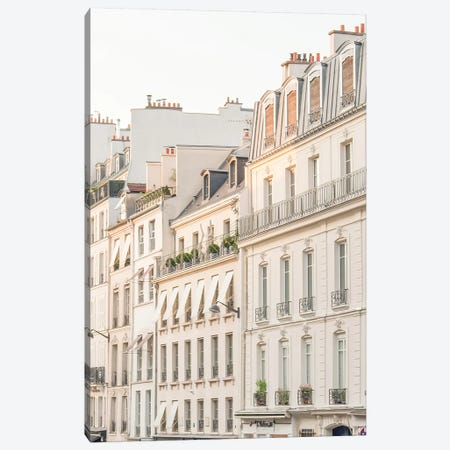 Paris Light Canvas Print #RAB111} by Ruby and B Canvas Artwork