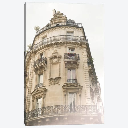 Paris Building V Canvas Print #RAB115} by Ruby and B Canvas Print