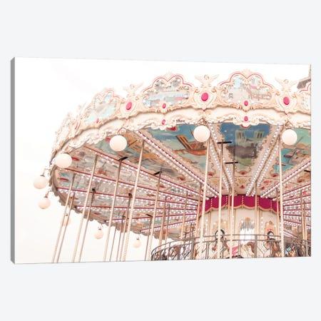 Paris Carousel V Canvas Print #RAB117} by Ruby and B Canvas Print