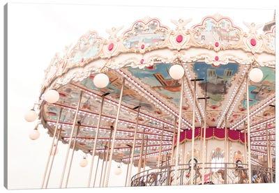 Paris Carousel V Canvas Art Print