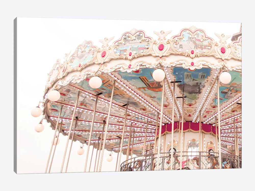 Paris Carousel V by Ruby and B 1-piece Canvas Artwork