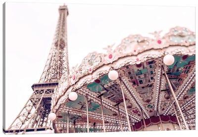 Paris Carousel VI Canvas Art Print