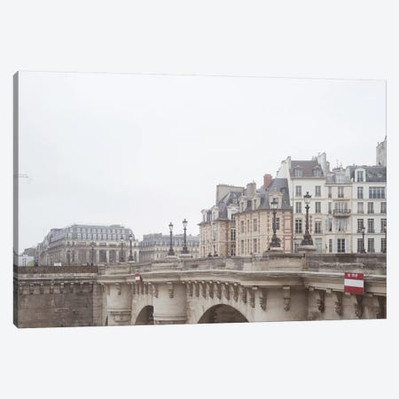 Paris View Canvas Print #RAB119} by Ruby and B Canvas Art