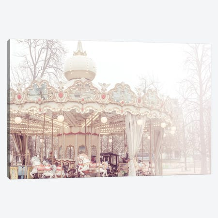 Paris Merry-Go-Round III Canvas Print #RAB122} by Ruby and B Art Print