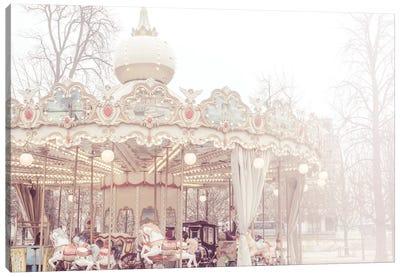 Paris Merry-Go-Round III Canvas Art Print