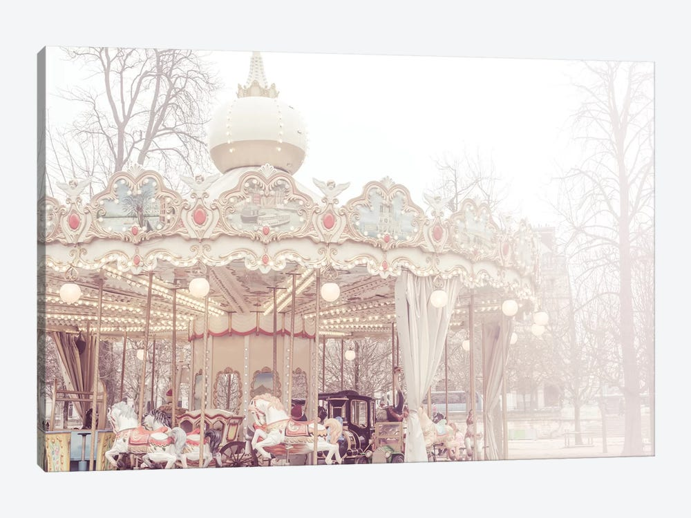 Paris Merry-Go-Round III by Ruby and B 1-piece Canvas Artwork