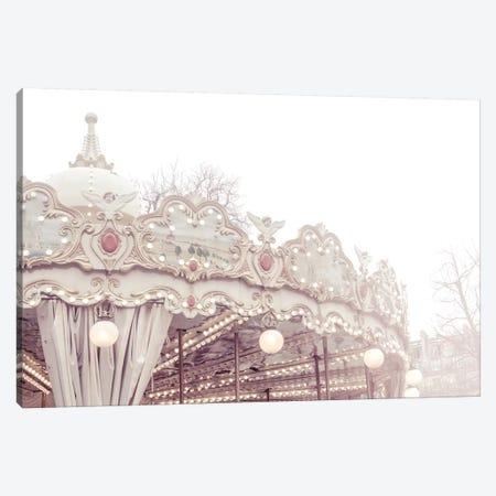 Paris Carousel VII Canvas Print #RAB123} by Ruby and B Art Print