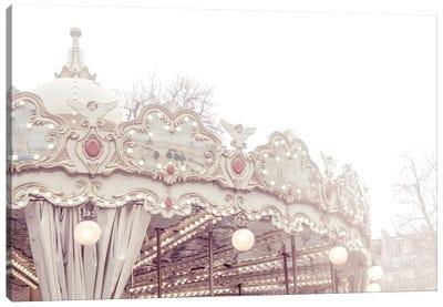 Paris Carousel VII Canvas Art Print