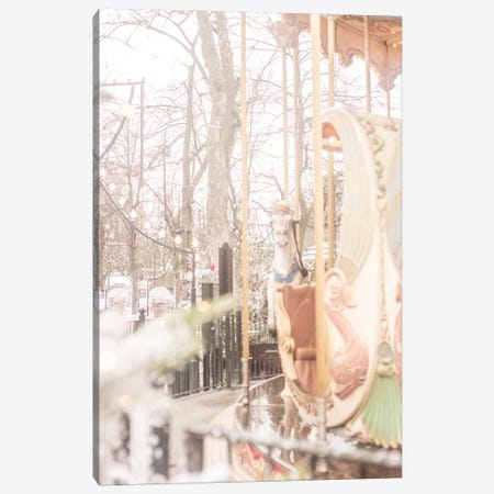 Pretty Carousel Canvas Print #RAB137} by Ruby and B Canvas Print