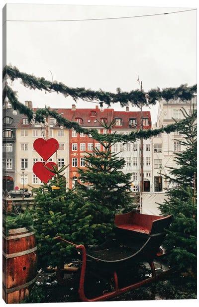 Copenhagen Christmas Canvas Art Print