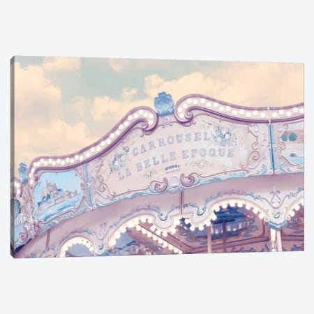 Carousel Belle Epoque Canvas Print #RAB13} by Ruby and B Canvas Art Print