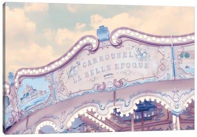 Carousel Belle Epoque Canvas Art Print