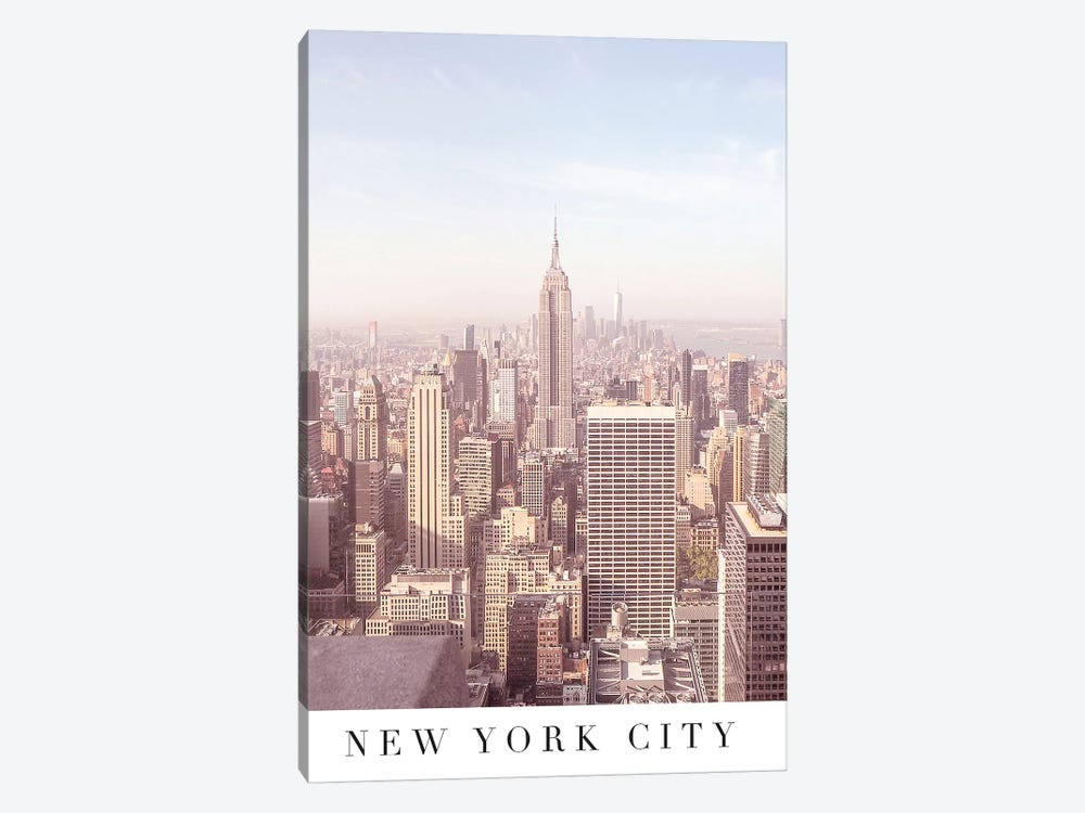 New York City Travel Poster by Ruby and B 1-piece Art Print