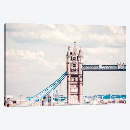Tower Bridge Of London Canvas Print #RAB150} by Ruby and B Canvas Art
