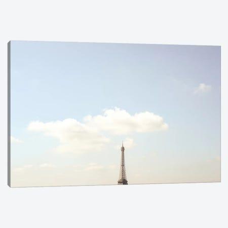 Eiffel Tower Minimalist View Canvas Print #RAB167} by Ruby and B Canvas Wall Art