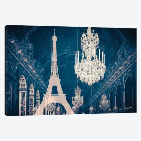 Paris Chandelier X Canvas Print #RAB168} by Ruby and B Canvas Art Print