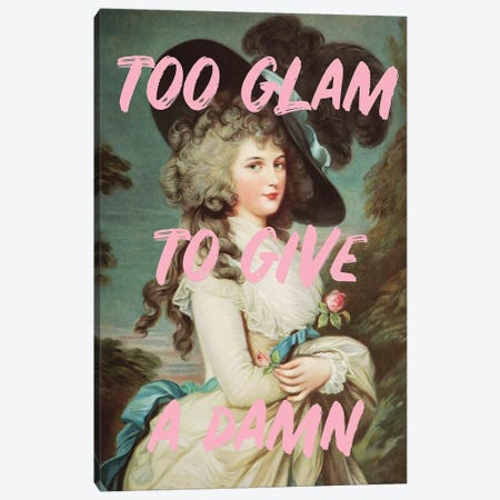 Too Glam Canvas Print #RAB178} by Ruby and B Canvas Wall Art