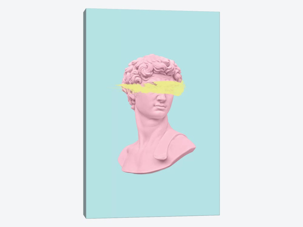 David On Blue by Ruby and B 1-piece Canvas Art Print