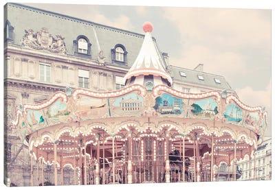 Carousel Of Paris Canvas Art Print