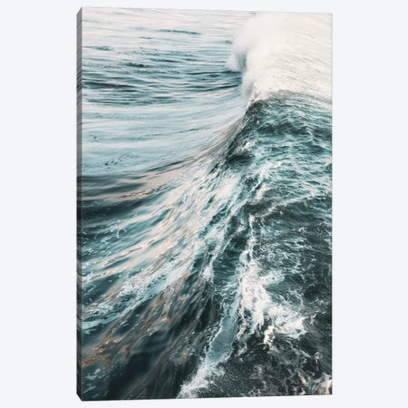 The Wave Canvas Print #RAB190} by Ruby and B Canvas Art