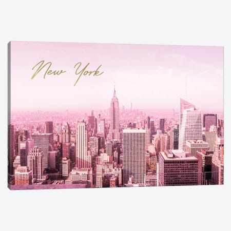 City Of Dreams NYC Canvas Print #RAB20} by Ruby and B Canvas Wall Art