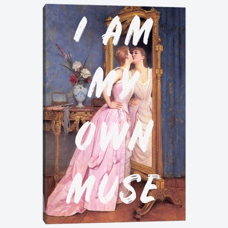 Muse 3-Piece Canvas #RAB210} by Ruby and B Canvas Print