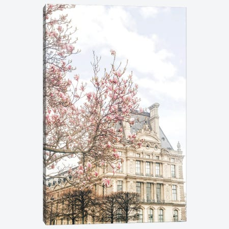 Paris Magnolia Canvas Print #RAB214} by Ruby and B Canvas Artwork