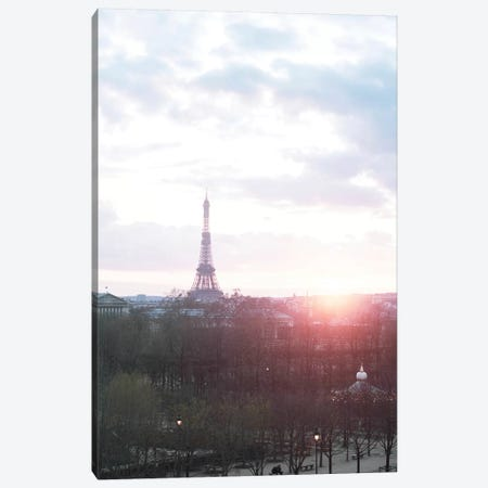 Paris Sunrise Canvas Print #RAB215} by Ruby and B Canvas Artwork