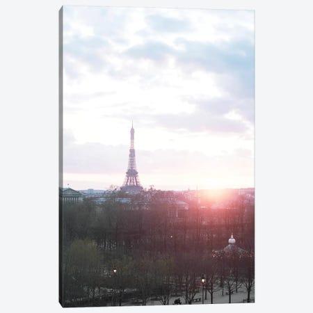 Paris Sunrise Canvas Print #RAB215} by Ruby and B Canvas Artwork