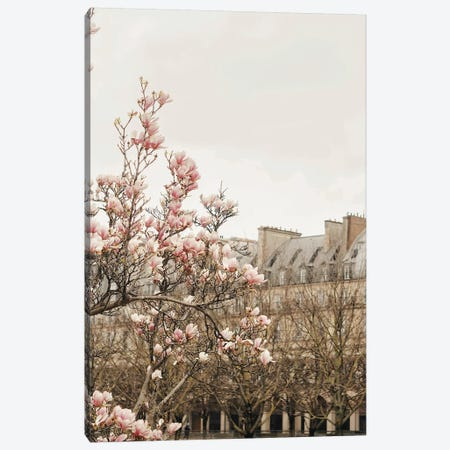 Paris Spring View Canvas Print #RAB224} by Ruby and B Art Print