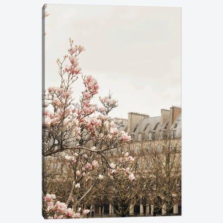Paris Spring View Canvas Print #RAB224} by Ruby and B Art Print
