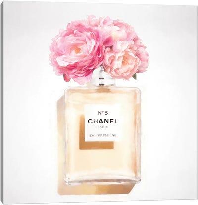 Peony Perfume Canvas Art Print