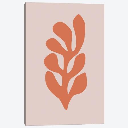 Leaf Cut-Out VI Canvas Print #RAB243} by Ruby and B Canvas Wall Art