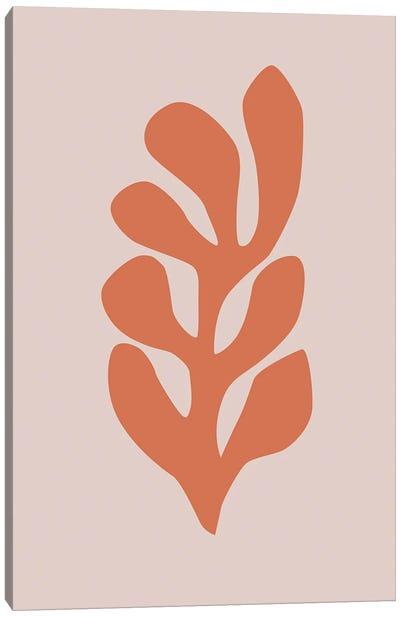 Leaf Cut-Out VI Canvas Art Print