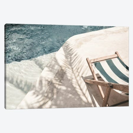 Pool Side Canvas Print #RAB247} by Ruby and B Art Print