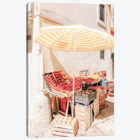 Italian Market Canvas Print #RAB249} by Ruby and B Canvas Art