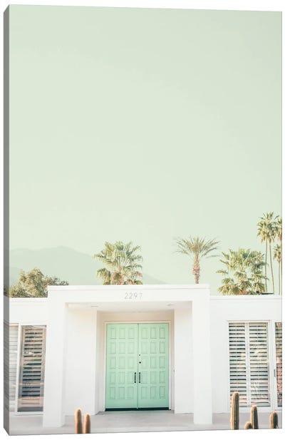 Mint Palm Springs Canvas Art Print