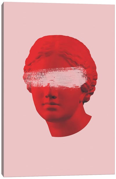 Venus Pink And Red Canvas Art Print