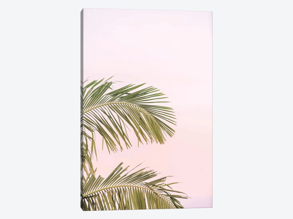 Sunset Palm Leaves by Ruby and B 1-piece Art Print