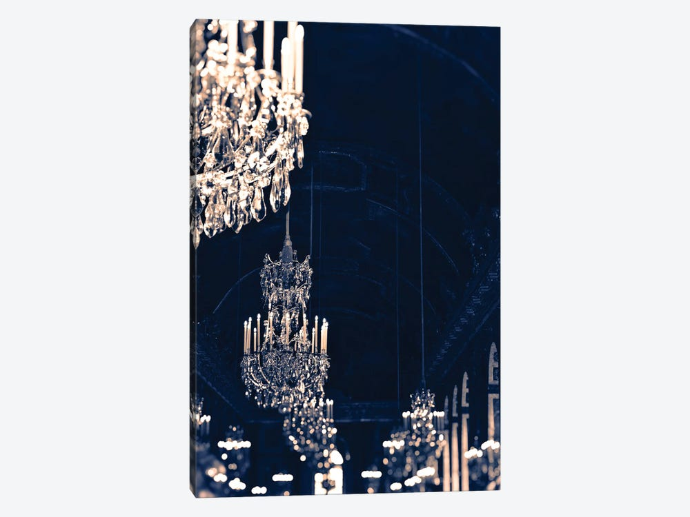 Gold Navy Chandelier by Ruby and B 1-piece Canvas Art Print