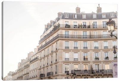 Paris Building Canvas Art Print