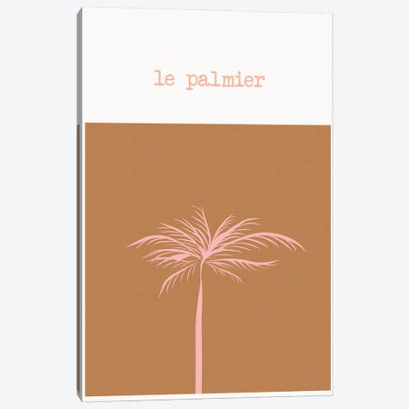 The Palm Tree Canvas Print #RAB294} by Ruby and B Canvas Wall Art