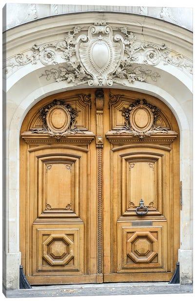 Paris Door Canvas Art Print