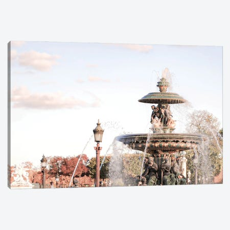 Parisian Fall Canvas Print #RAB296} by Ruby and B Canvas Artwork