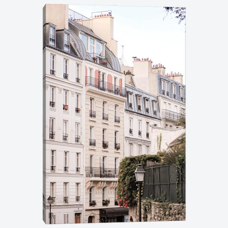 Paris View III Canvas Print #RAB297} by Ruby and B Canvas Artwork