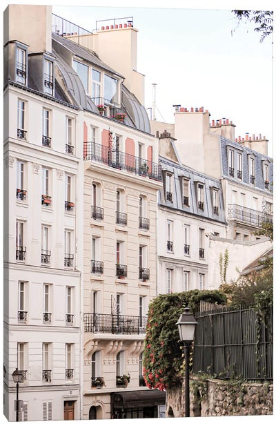Paris View III Canvas Art Print