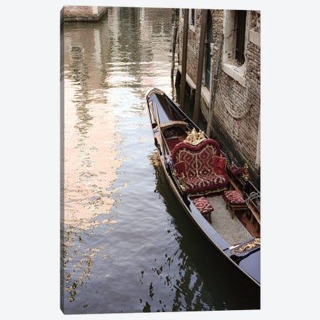 Venice Gondola Canvas Print #RAB299} by Ruby and B Canvas Art Print