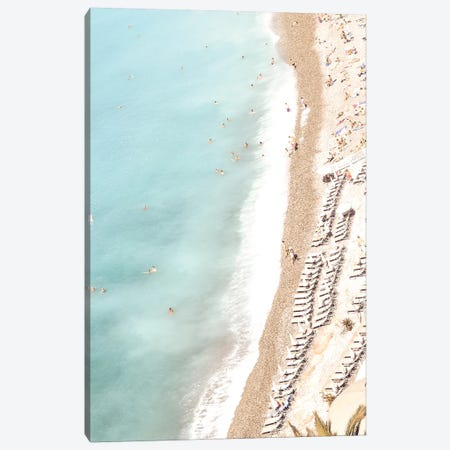 Aerial Riviera Canvas Print #RAB2} by Ruby and B Canvas Art